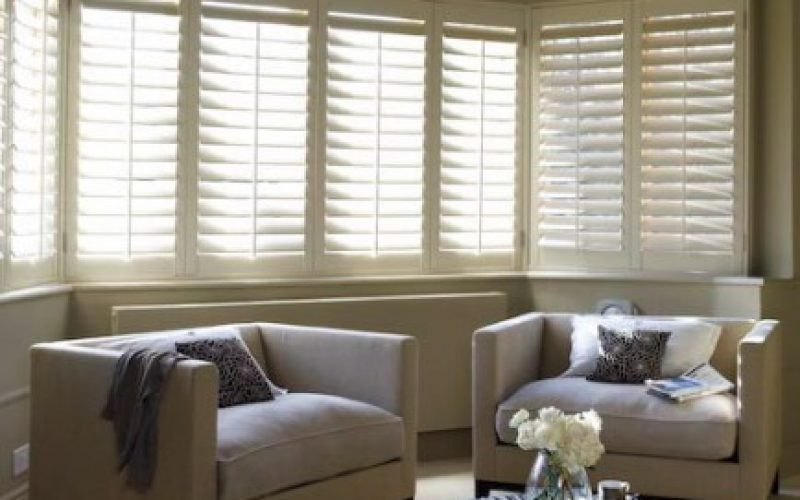Bay Window Interior Shutters
