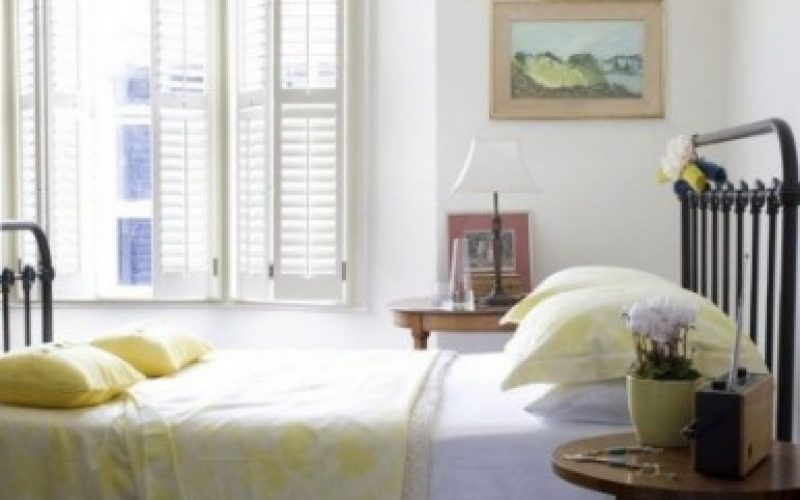 Interior Bedroom Shutters