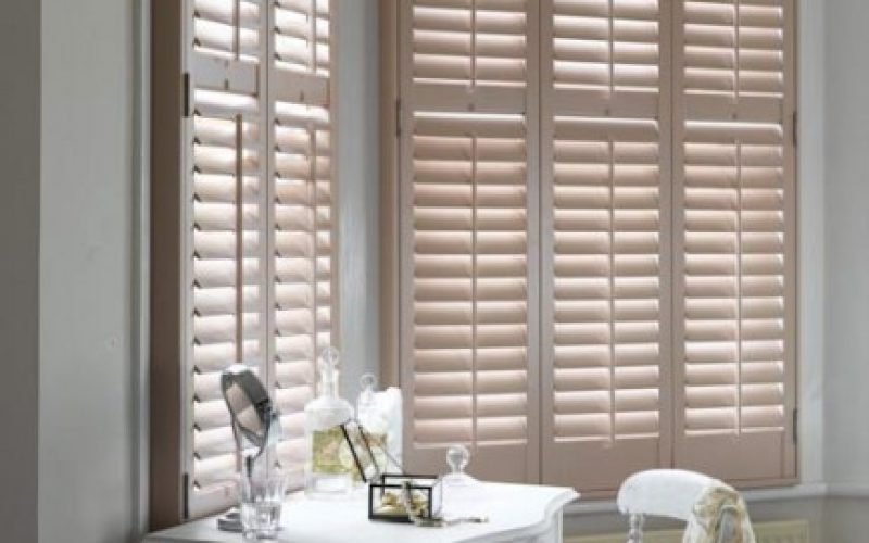 Pastel Coloured Wooden Shutters