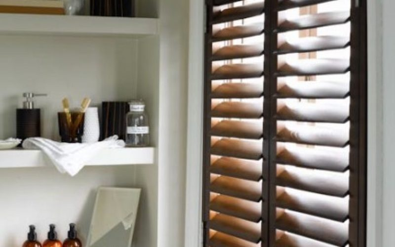 Water Resistant Bathroom Shutters